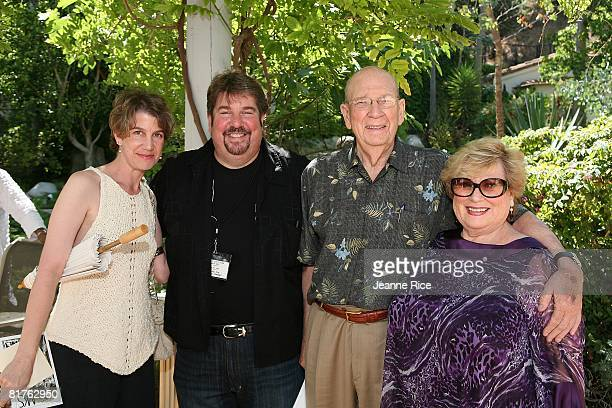 Tara Ison Trigg Ison William Ison and Erika Korda attend Trigg Ison Fine art exhibit for the work of Maxine Kim StussyFrankel at her home June 28...