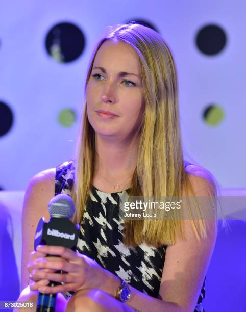 Tara King during The Billboard Latin Music Conference Awards Marketing Panel/ Case Study panel at Ritz Carlton South Beach on April 25 2017 in Miami...