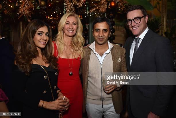 Tara Lalvani Jenny Halpern Prince Tej Lalvani and Daniel Compton join Hornby and Halpern Prince at their annual Christmas drinks in Mayfair at...