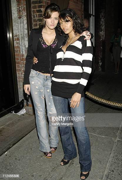 Tara Lee and Shakara during Bunny Chow Tuesday at Cain May 23 2006 at Cain in New York City New York United States