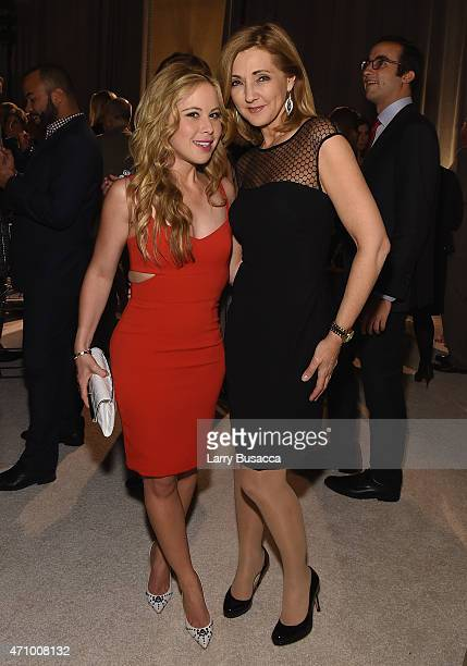 Tara Lipinski and Chris Jansing attends Time and People's annual cocktail party on White House Correspondents' Weekend at St Regis Hotel on April 24...