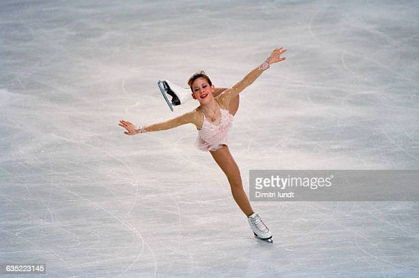 Tara Lipinski from USA during the 1997 Trophee Lalique
