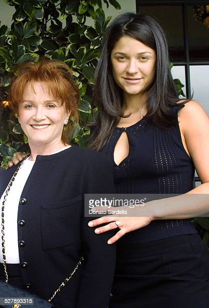 Tara Lynda Guber and Elizabeth Guber during Chanel CoHosts a Mother and Daughter Charity Luncheon to Benefit The Accelerated School at Guber's Home...