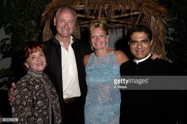 Tara Lynda Guber Richard Celeste former Ambassador to India Deepak Chopra and Jacqueline Lundquist