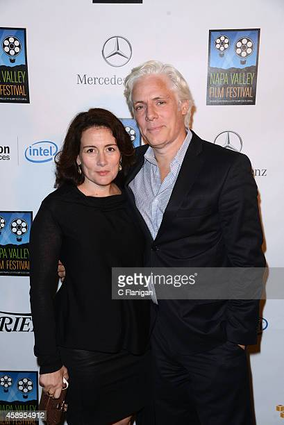 Tara Lynn Orr and Philippe Brenninkmeyer attend the 2014 Festival Gala during the Napa Valley Film Festival on November 13 2014 in Napa California