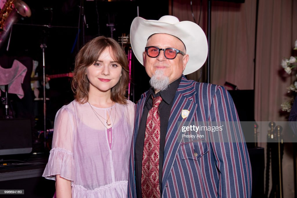 Tara Lynne Barr and Bobcat Goldthwait attend after party for the premiere of truTV's 'Bobcat Goldthwait's Misfits & Monsters' at Hollywood Roosevelt Hotel on July 11, 2018 in Hollywood, California.