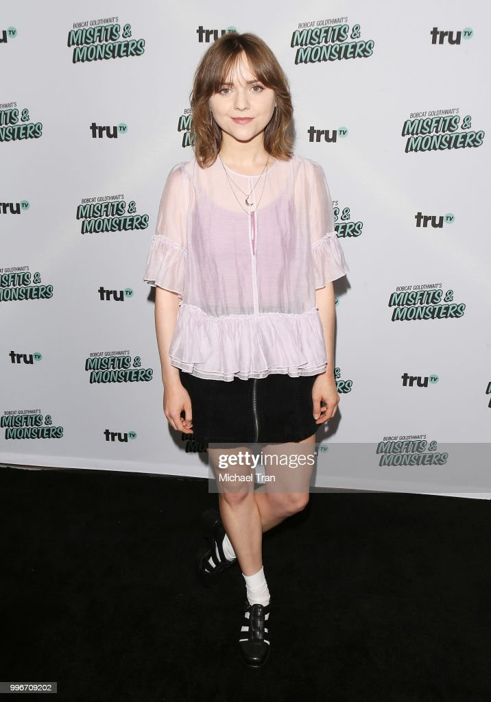 Tara Lynne Barr attends the Los Angeles premiere of truTV's 'Bobcat Goldthwait's Misfits & Monsters' held at Hollywood Roosevelt Hotel on July 11, 2018 in Hollywood, California.