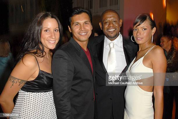 Tara Mason Adam Beach Forest Whitaker and Keisha Whitaker