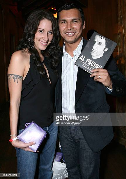 Tara Mason and Adam Beach during Hollywood Life's Breakthrough of the Year Awards Gift Lounge at Music Box in Los Angeles California United States