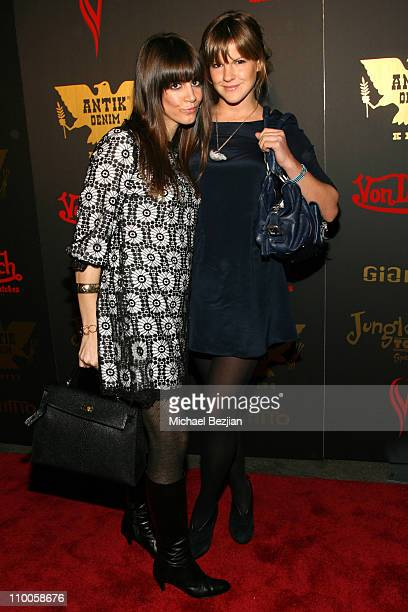 Tara Mercurio and Kate Sumner during Tricia Helfer of Battlestar Galcatica Party to Celebrate the Release of the February Issue of Playboy at Les...