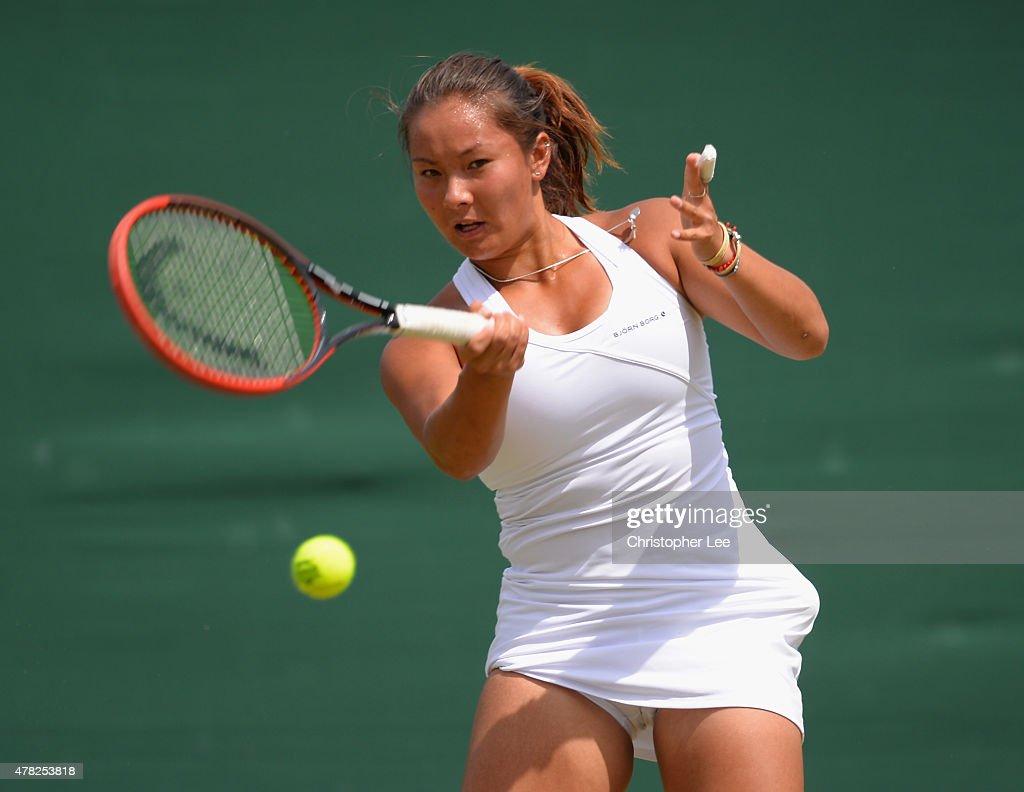 2015 Wimbledon Qualifying Session : News Photo