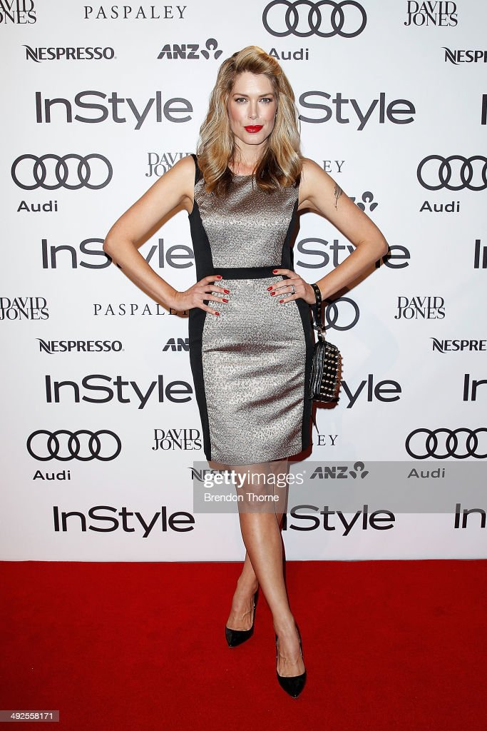 Tara Moss arrives at the Instyle and Audi 'Women of Style' Awards on May 21, 2014 in Sydney, Australia.