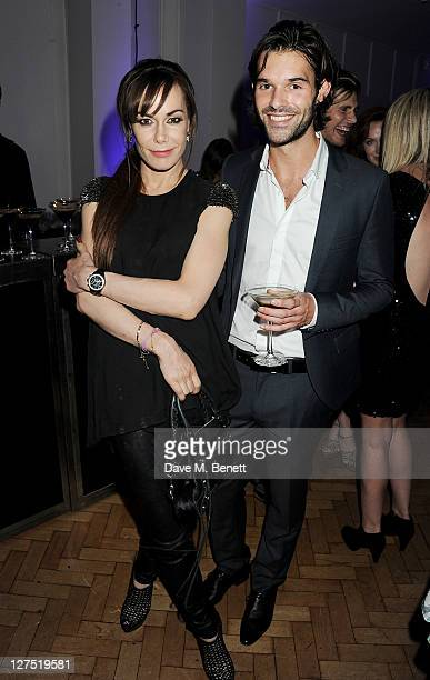 Tara Palmer Tomkinson and Bobby Sabel attend the Quintessentially Awards 2011 at One Marylebone on September 28 2011 in London England