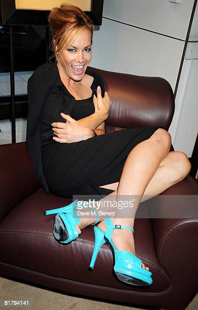 Tara Palmer Tomkinson attend the book launch party of Simon Sebag Montefiore's book 'Sashenka' at Asprey on July 1 2008 in London England