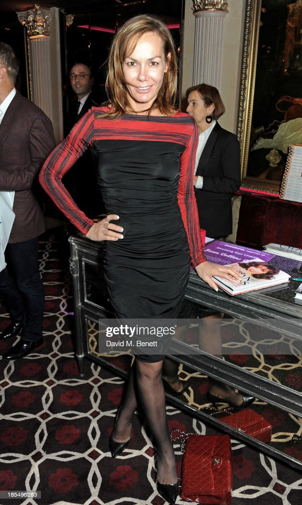 Tara Palmer Tomkinson attends the launch of Joan Collins new book 'Passion For Life' at No.41 Mayfair Club at The Westbury Hotel on October 21, 2013 in London, England.