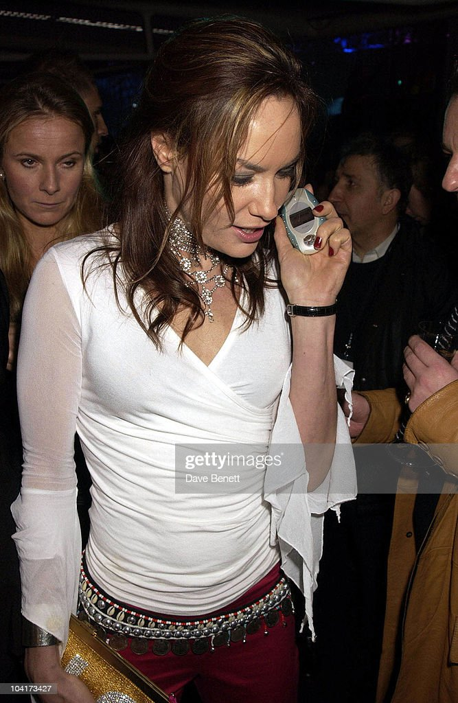Tara Palmer Tomkinson, Launch Party Of Xelibri Mobile Phone Held At Old Billingsgate Market In London.