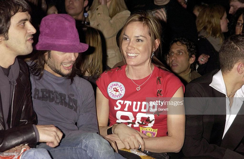 Tara Palmer, Tomkinson With Joaquim Cortes, Julien Macdonald Fashion Show At The Roundhouse In Camden, London, London Fashion Week 2003