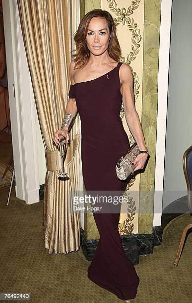 Tara Palmer Tompkinson attends the 2007 TV Quick and TV Choice Awards At the Dorchester Hotel on September 03 2007 in London England