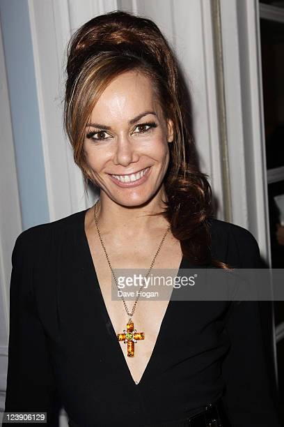 Tara Palmer Tompkinson attends the Freddie For A Day 65th birthday anniversary at The Savoy Hotel on September 5 2011 in London United Kingdom