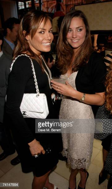 Tara PalmerTomkinson and Kate Middleton attend the book launch party of The Young Stalin The Adventurous Early Life Of The Dictator 18781917 by Simon...