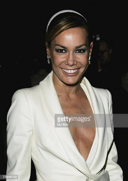 Tara PalmerTomkinson arrives at the premiere for the new Cirque Du Soleil production Alegria at the Royal Albert Hall on January 5 2007 in London...