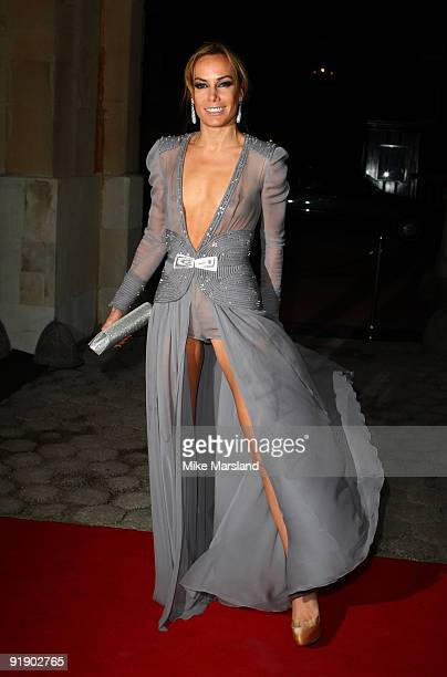 Tara PalmerTomkinson arrives for the Tatler 300th anniversary party on October 14 2009 in London England