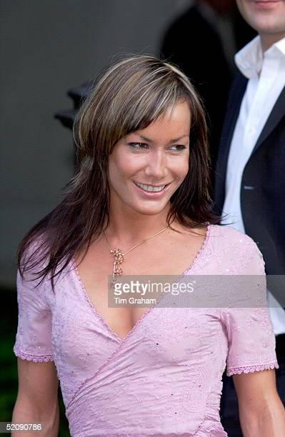 Tara Palmertomkinson At A Celebrity Party Hosted By Broadcaster Sir David Frost In Chelsea