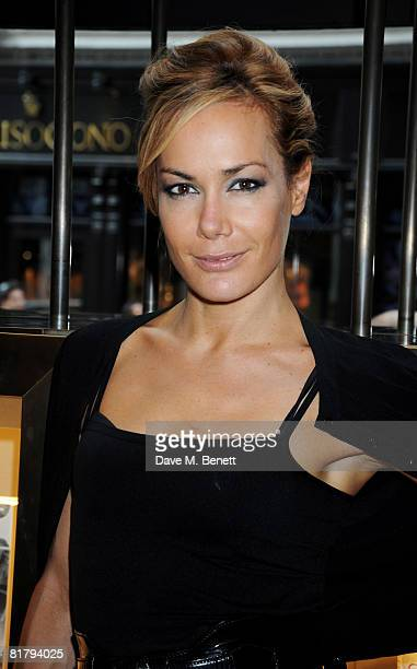 Tara PalmerTomkinson attends the book launch party of Simon Sebag Montefiore's book 'Sashenka' at Asprey on July 1 2008 in London England