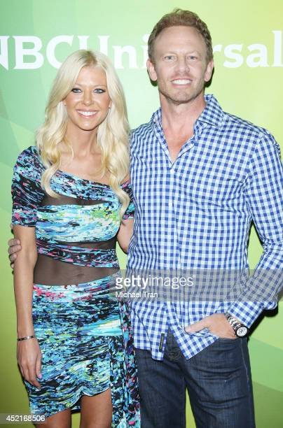 Tara Reid and Ian Ziering arrive at the 2014 Television Critics Association Summer Press Tour - NBCUniversal - Day 2 held at The Beverly Hilton Hotel...