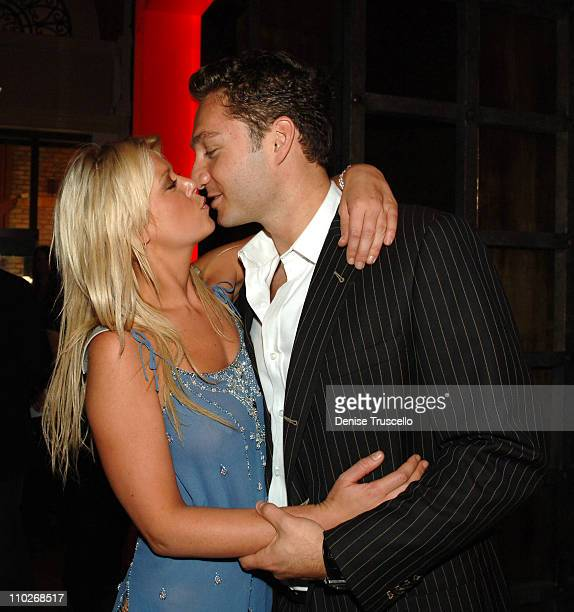 Tara Reid and Jason Strauss during Jermaine Dupri Celebrates 33rd Birthday at TAO Grand Opening Weekend Celebration at TAO Restaurant and Nightclub...