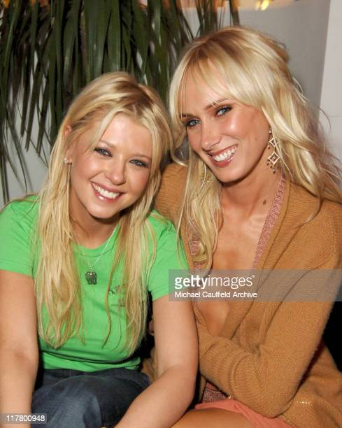 Tara Reid And Kimberly Stewart During Maxim Magazines Hot 100 Inside At The Day After In