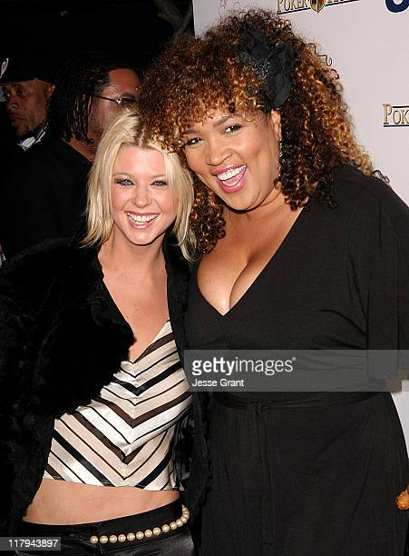 Tara Reid and Kym Whitley during Urban Health Institute's 2006 Celebrity Poker Tournament and Casino Night at The Playboy Mansion at The Playboy...