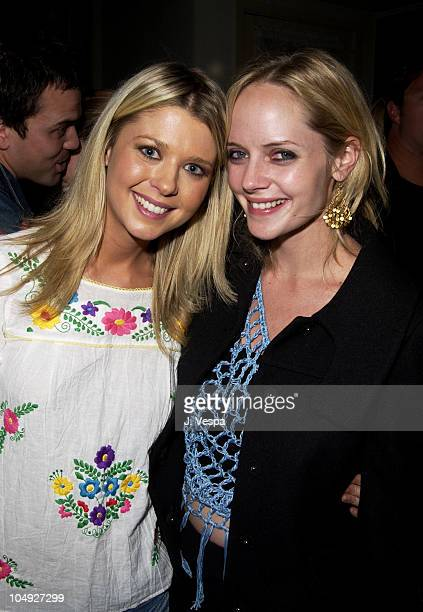 Tara Reid and Marley Shelton during Tell No One 1800 Hosts Hollywood's Hottest Talent At Exclusive Party Inside at Chateau Marmont in West Hollywood...
