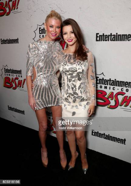 Tara Reid and Masiela Lusha at Entertainment Weekly's annual ComicCon party in celebration of ComicCon 2017 at Float at Hard Rock Hotel San Diego on...