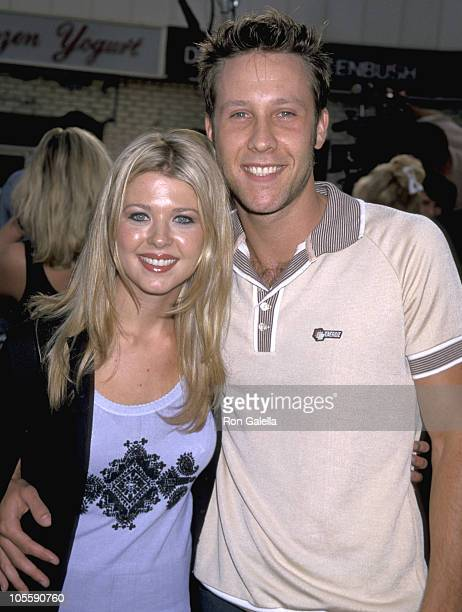 Tara Reid and Michael Rosenbaum during 'The Negotiator' World Premiere at Mann's Villiage Theater in Westwood California United States