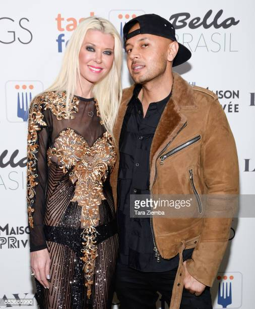 Tara Reid and Ted Thanik attend the Bello Brasil Magazine Issue Launch Party at Hills Penthouse on November 30 2017 in West Hollywood California