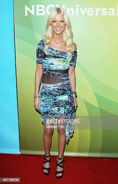 Tara Reid arrives at the 2014 Television Critics Association Summer Press Tour - NBCUniversal - Day 2 held at The Beverly Hilton Hotel on July 14,...