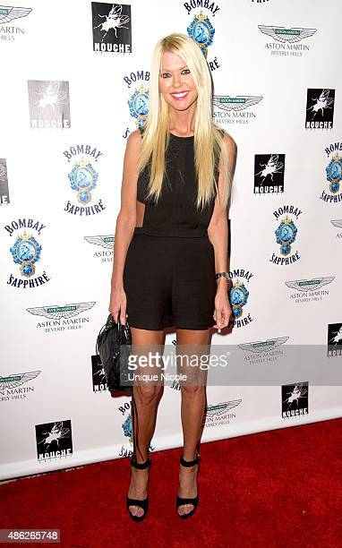 Tara Reid arrives at the VIP opening reception for 'DisEase' an evening of fine art with Billy Morrison at Mouche Gallery on September 2 2015 in...
