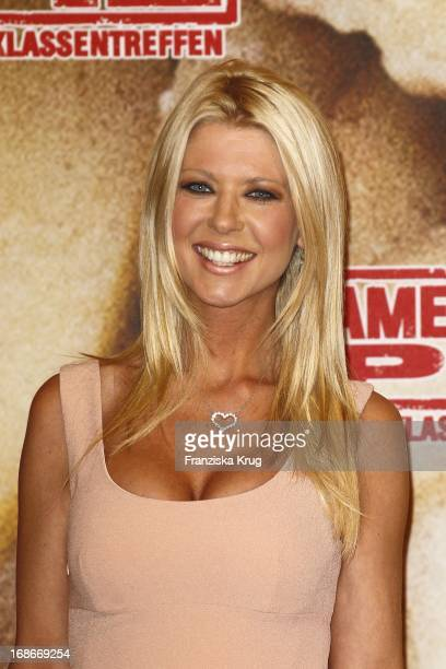 Tara Reid at photocall for the movie American Pie Reunion in Berlin on 29th of March