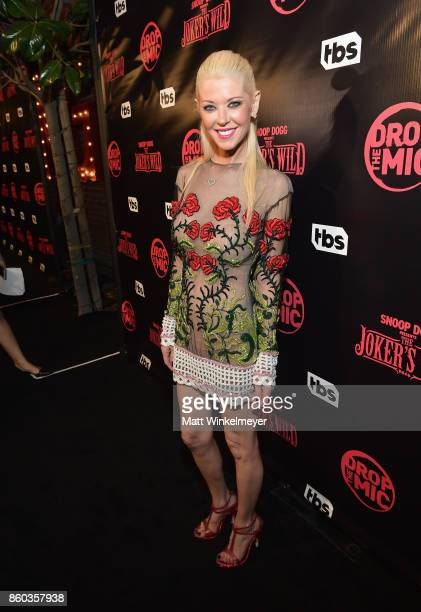Tara Reid at TBS' Drop the Mic and The Joker's Wild Premiere Party at Dream Hotel on October 11 2017 in Hollywood California Shoot ID 26854_010