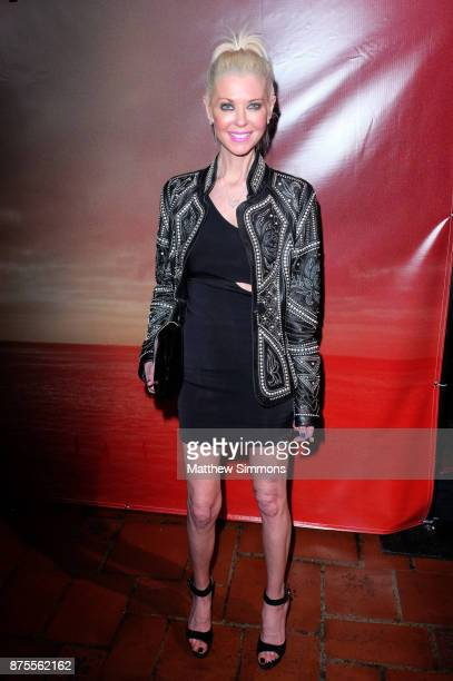 Tara Reid at the premiere of IFC Films' 'The Tribes Of Palos Verdes' at The Theatre at Ace Hotel on November 17 2017 in Los Angeles California
