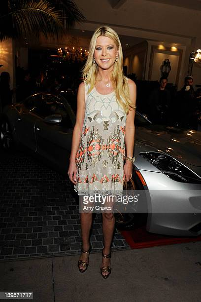 Tara Reid attends Domingo Zapata's Oscars Art Show With Fisker Automotive on February 22, 2012 in Los Angeles, California.