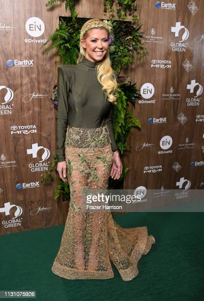 Tara Reid attends the Global Green 2019 PreOscar Gala at Four Seasons Hotel Los Angeles at Beverly Hills on February 20 2019 in Los Angeles California