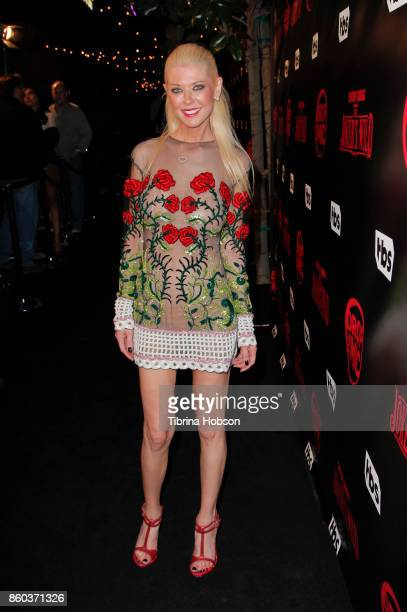 Tara Reid attends the premiere for TBS's 'Drop The Mic' and 'The Joker's Wild' at The Highlight Room on October 11 2017 in Los Angeles California