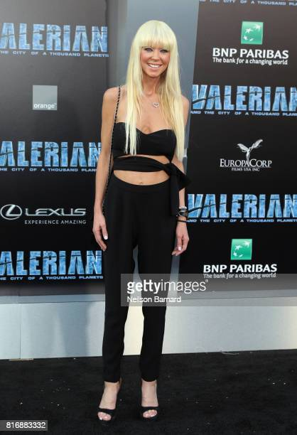 Tara Reid attends the premiere of EuropaCorp and STX Entertainment's 'Valerian and The City of a Thousand Planets' at TCL Chinese Theatre on July 17...