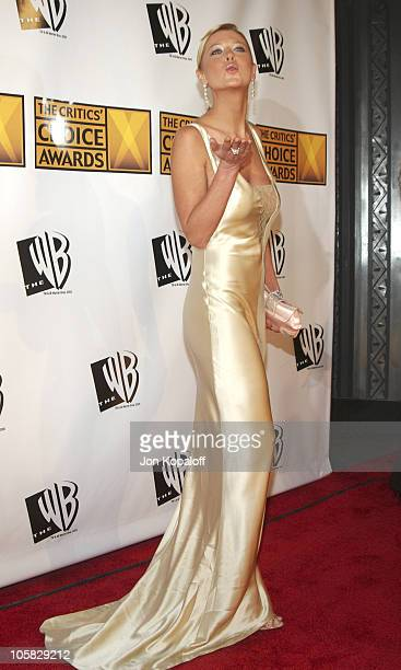 Tara Reid during 10th Annual Critics' Choice Awards Arrivals at Wiltern LG Theatre in Los Angeles California United States