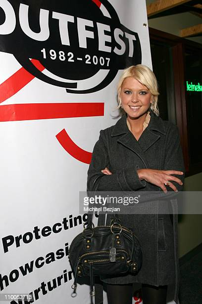 Tara Reid during 2007 Park City - Outfest Party at Heineken Green Room at Heineken Green Room in Park City, Utah, United States.