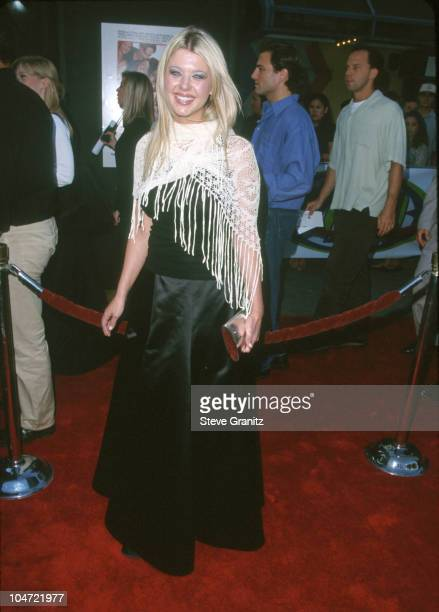 Tara Reid during 'American Pie' West Coast Premiere at Cineplex Odeon Universal Studios Cinema in Universal City California United States