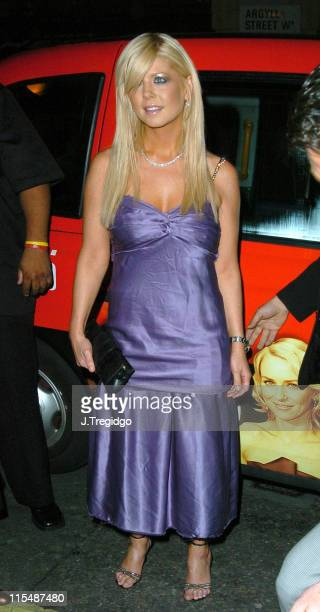 Tara Reid during E Entertainment 'Wild On' Party at MOVIDA in London Great Britain