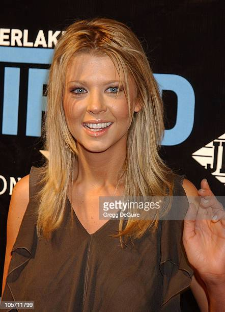 Tara Reid during Justin Timberlake Album Release Party For His Debut Solo Album Justified at Smashbox Studios in Culver City California United States